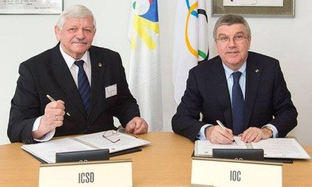 IOC signs MoU with International Committee of Sports for the Deaf