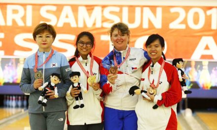 Adelia Naomi Yokoyama scores a gold while Kimberly Quek Hwee finishes bronze in the same event