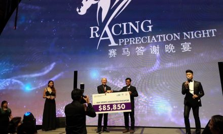 Racing fraternity came together to raise fund for DSA