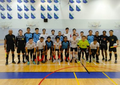 DSA Men Futsal Team vs Under-19 SG