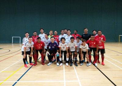 DSA Men Futsal vs Ex-National Futsal 2015 AFF Squad