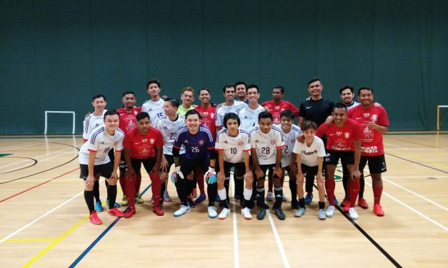 DSA Men Futsal Team prepares for 3rd Asia Pacific Deaf Futsal Championship 2019 in Bangkok