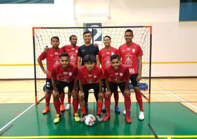 Back: Saifuddin Ramli, Oswind, Hazwan, Helmi , Farhan | Front: Nazirul Islam, Amir, Nurul Islam