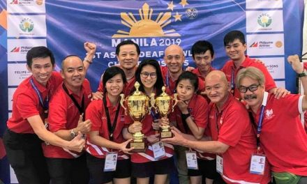 Singapore deaf bowlers unshaken by the Philippines' tremors